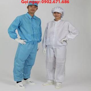 Áo rời quần rời phòng sạch chống tĩnh điện