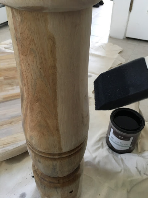 Nautical Wooden Napkin Rings with Weatherwood