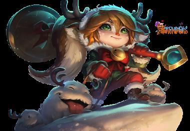 render Snow Fawn Poppy