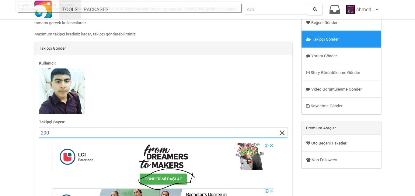 free instagram followers generator tool 2019 - Mr App Crarker