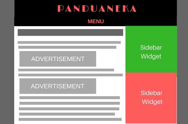 Cara Memasang 2 Unit Iklan Adsense di Tengah Postingan Blogpsot