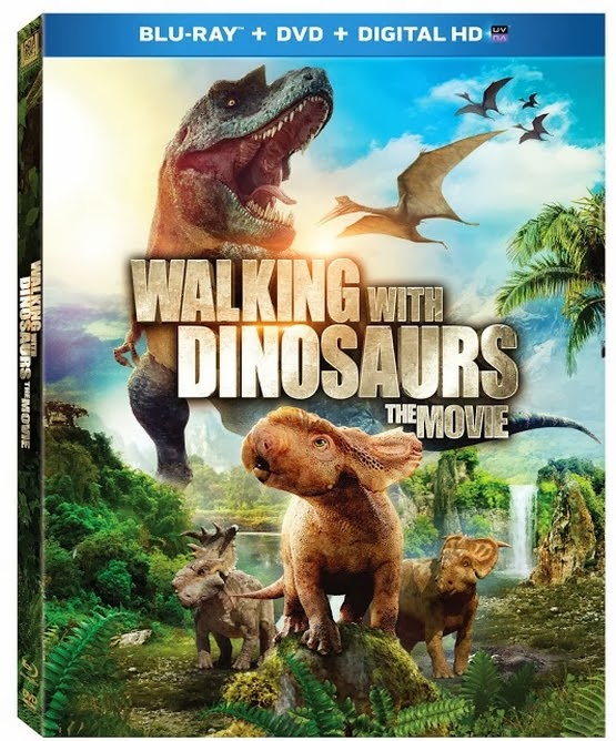 Cover Caratula Caminando Entre Dinosaurios Bluray