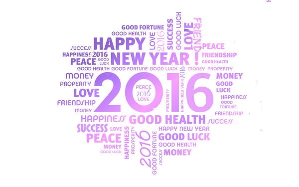 healthy new year greetings