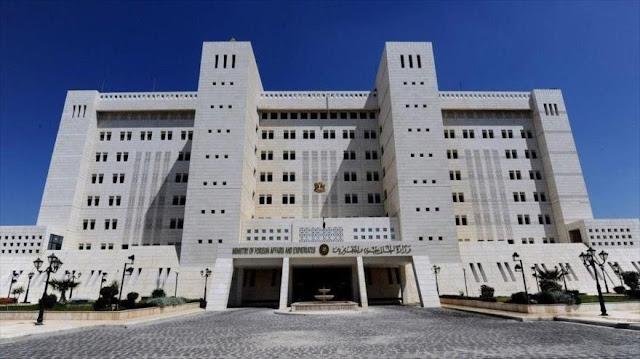 Siria denuncia la reimposición de sanciones de EEUU a Irán