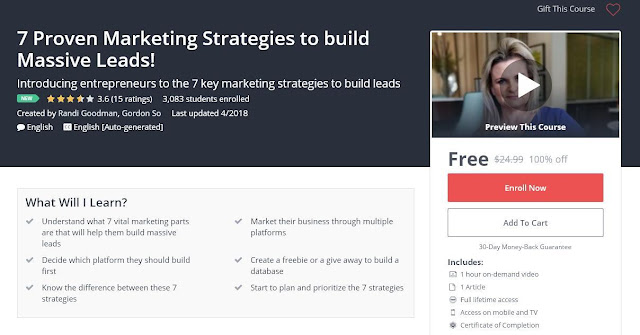 7 Proven Marketing Strategies to build Massive Leads!
