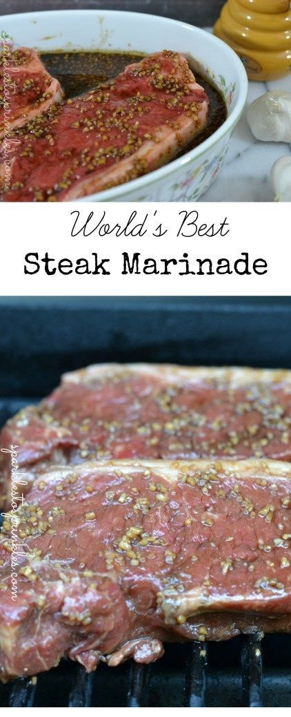 Worlds Best Steak Marinade