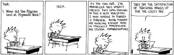 Barone English: Some Calvin Jokes
