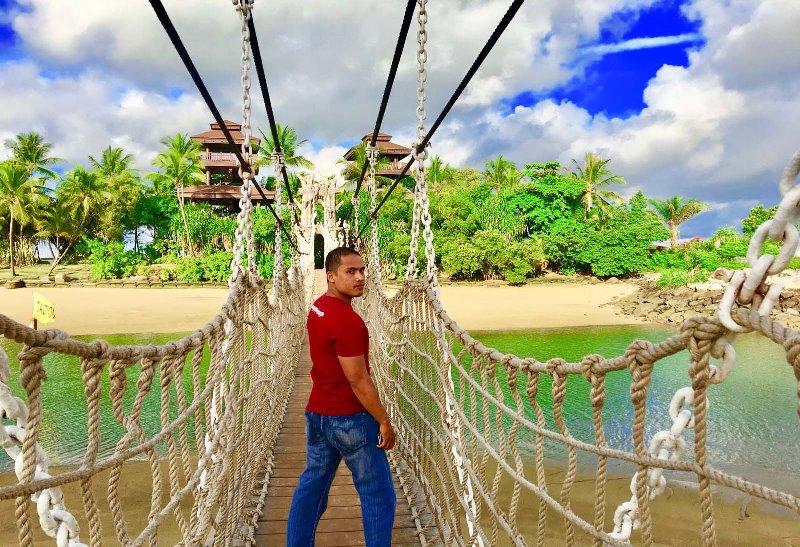 Sensasi Goyangan Jembatan di Pantai Palawan Singapura, pantai di singapore, pantai terbaik di singapore, pantai east coast singapore, pantai siloso, wisata di sentosa island, wisata gratis di sentosa island, tips wisata ke sentosa island, pertunjukan di sentosa island