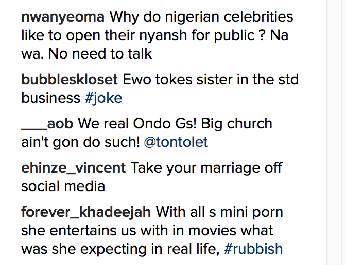 Fans Blast Tonto Dikeh For Claiming Her Husband Gave Her STDs; Tonto Replies5