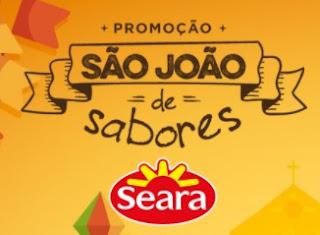 Cadastrar Promoção Seara São João de Sabores