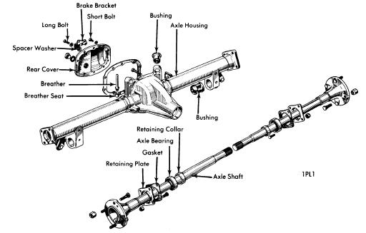 chevy tracker rear drum brake diagram