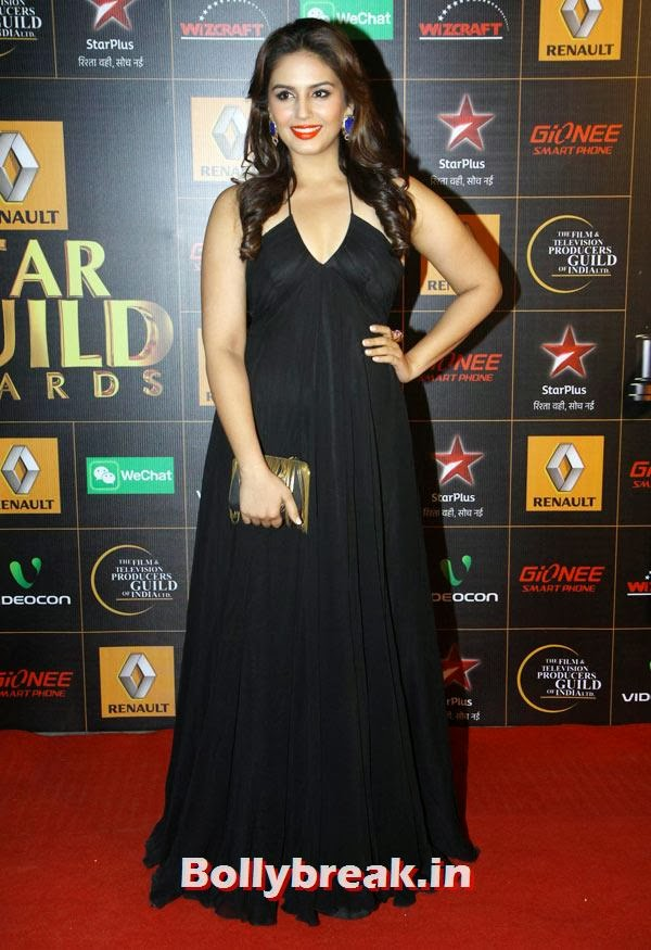 Huma Qureshi, Star Guild Awards 2014 Pictures