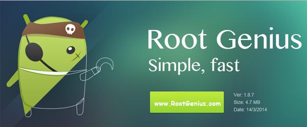 روت لهواتف الأندرويد عبر برنامج RootGenius
