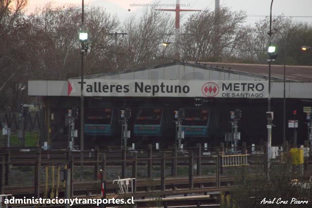 Alstom NS93 en Talleres Neptuno