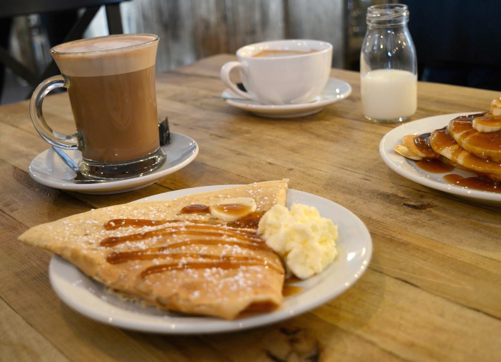 Pancake Day at Monsieur Crepe Cafe, Heaton - Menu Review