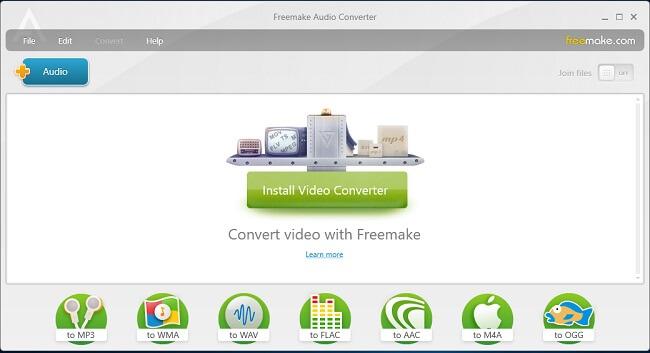 freemake audio converter malware