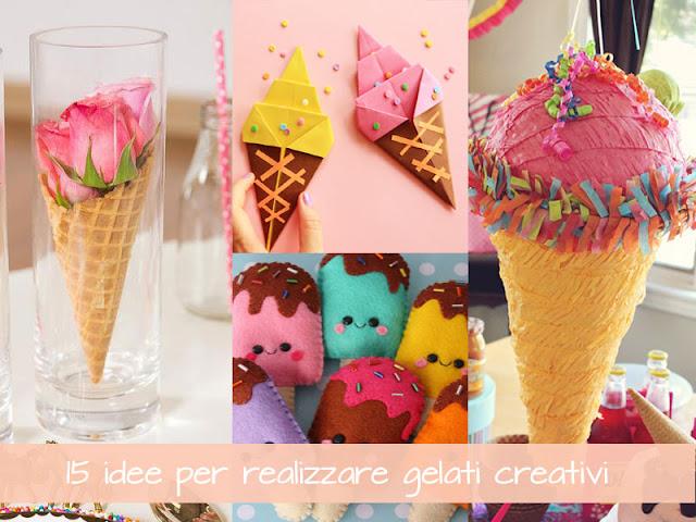 15 idee per realizzare dei gelati fai da te creativi per feste a tema