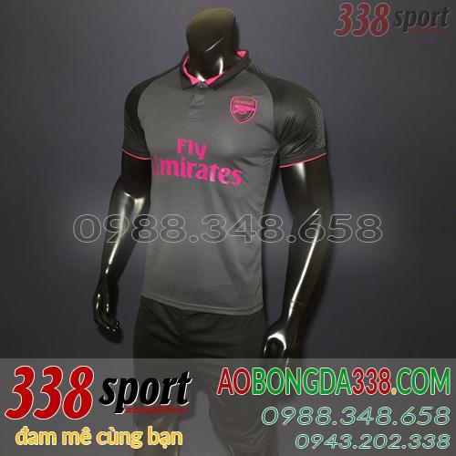 áo bóng đá câu lạc bộ arsenal đen sân khách