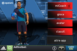 miCoach Football Adidas per iPhone e iPad.
