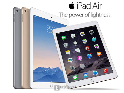 Harga Apple iPad Air 2 128 GB Terbaru 2015