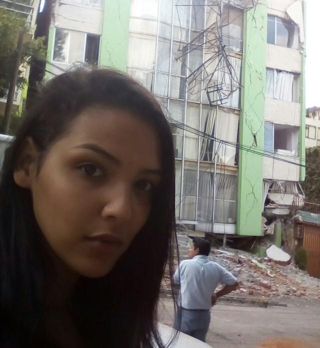 'Pensei que meu prédio ia cair', diz modelo potiguar após terremoto no México