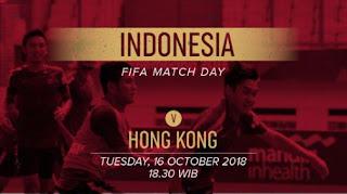 #HongKongDay Saat Laga Timnas Indonesia vs Hong Kong