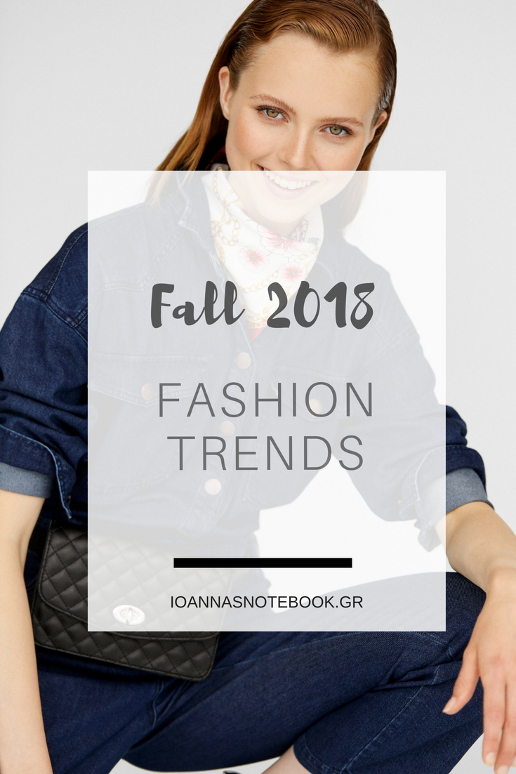 Fall 2018 Fashion Trends by Stradivarius: A quick look at what you'll see at the stores the following weeks | Ioanna's Notebook