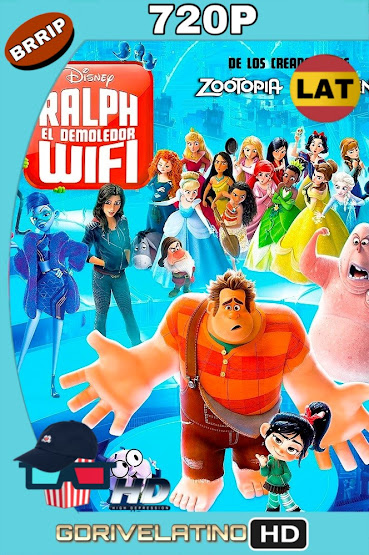 Wifi Ralph (2018) BRRip 720p Latino-Ingles MKV