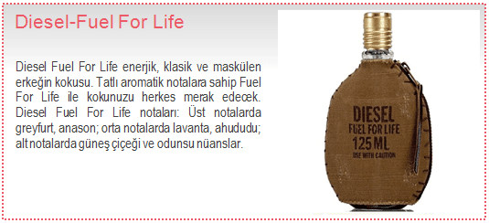 Diesel-Fuel For Life EDT Erkek Parfüm