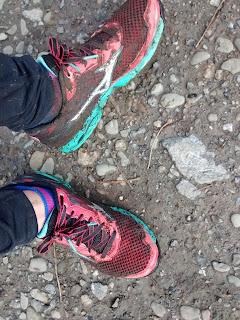 Chaussures de trail Mizuno boue