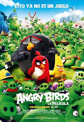 Póster de Angry Birds. La película