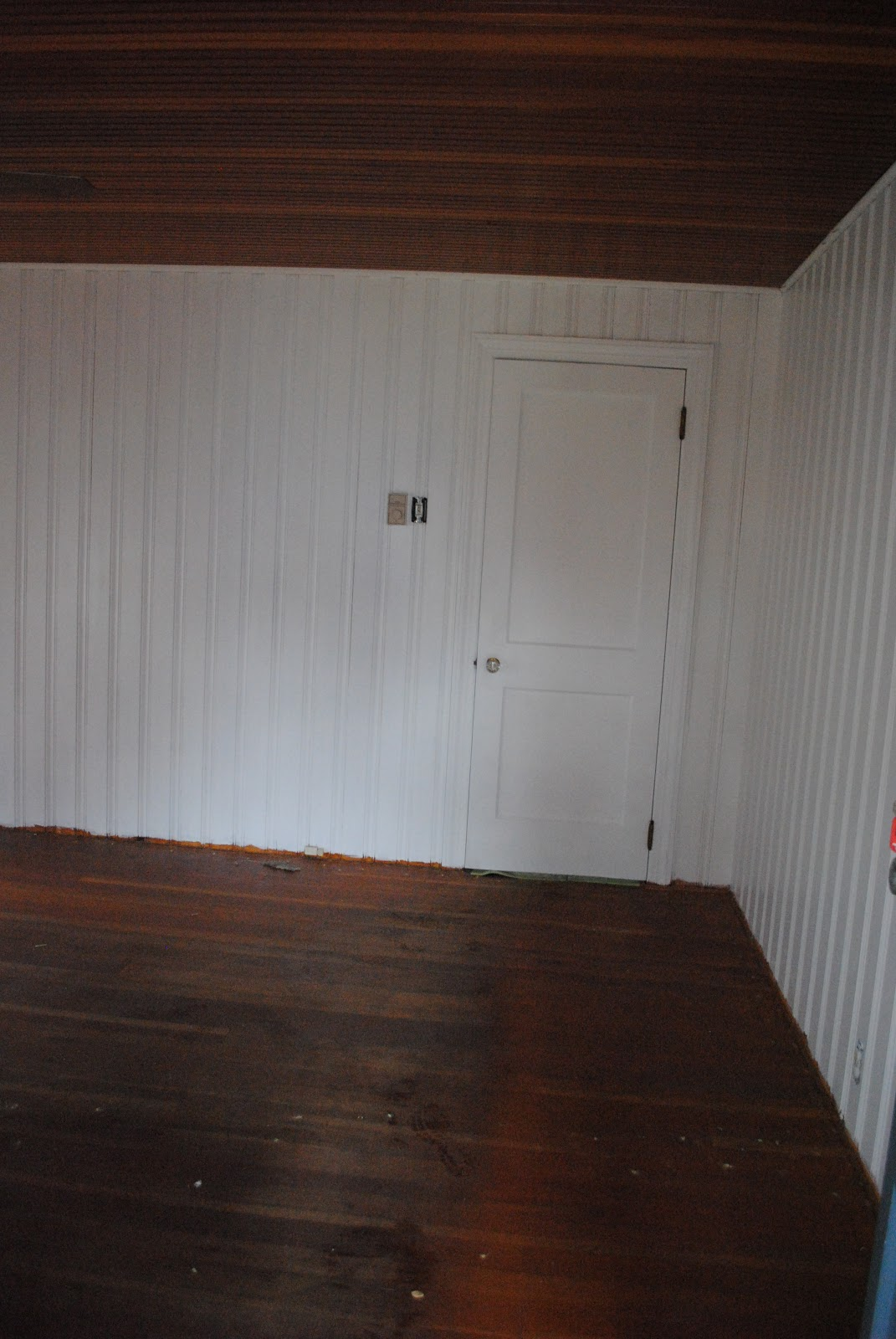 House By Holly To Paint Knotty Pine Or Not That Is The Question
