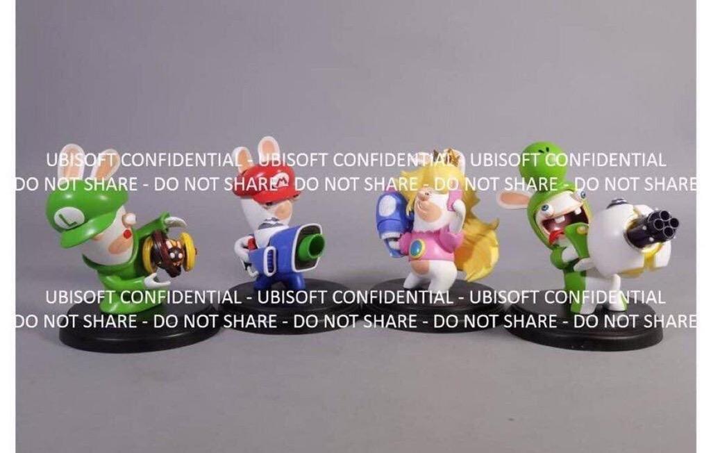 Se filtran supuestos amiibo para Mario + Rabbids Kingdom Battle