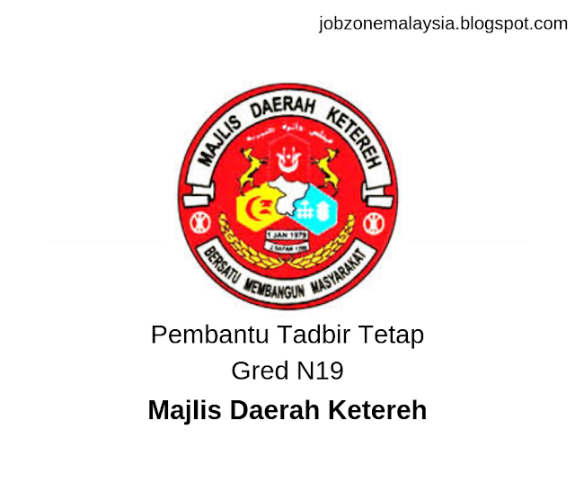 Pembantu Penguatkuasa Tetap Gred KP19 - Majlis Daerah Ketereh