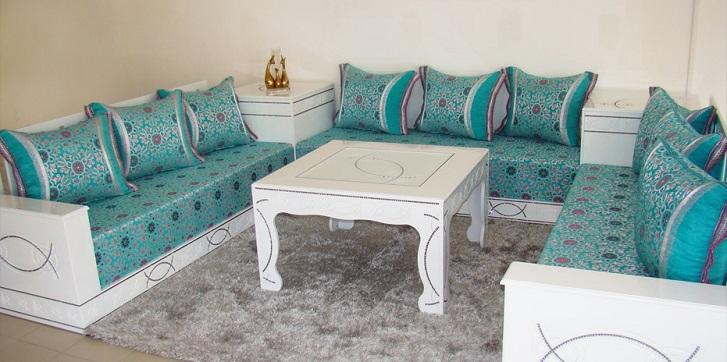Salon Maroc Décoration: Meubles pour salon marocain moderne ...