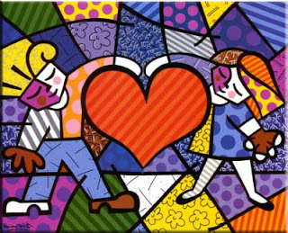 Romero Britto - Heart Kids