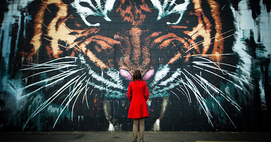 The Street Art of Glasgow - In Photos