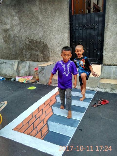 Foto-Foto Keren Kampung 3D di Depok - Blog Mas Hendra