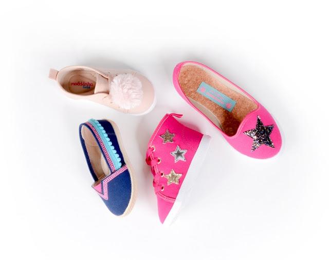 Guia de numeração de sapatos infantis + novidades Molekinha Kids
