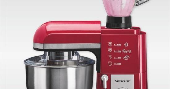 Manuales productos lidl for Robot de cocina silvercrest