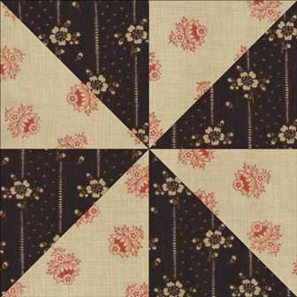 dolly s designs: Let s Talk Quilting Week 2 Block 2 Triangle Block