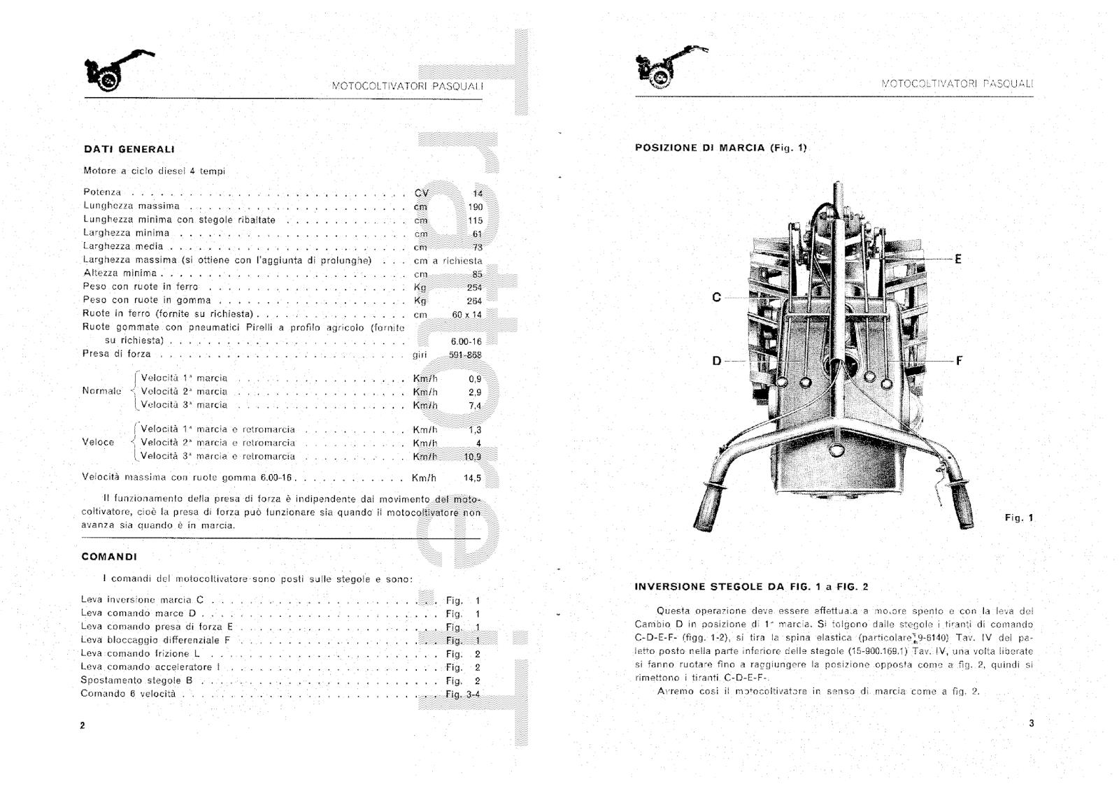 InfoTrattore.it: Motocoltivatore Pasquali 936 CV 14