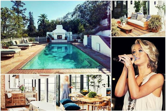 Elegant House Of The Universal Singer Julianne Hough