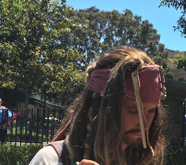 Captain Jack Sparrow Character Disneyland