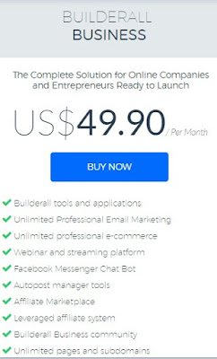 builderall business plan features