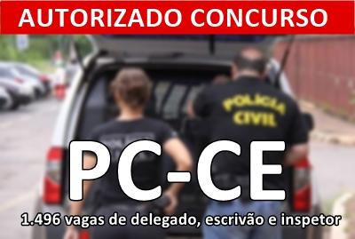 Curso online Concurso PC-CE 2018