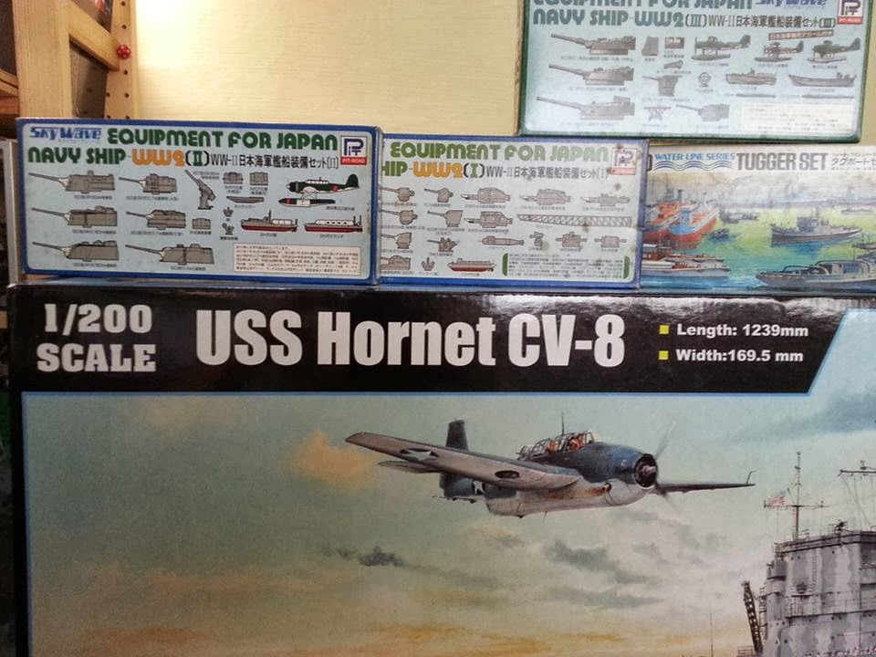 Kitter's Scale Models: 1/200 U S S Hornet CV-8 Aircraft Carrier