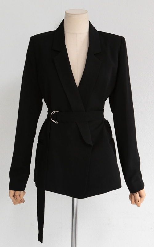 Open Jacket with D-ring Belt Set