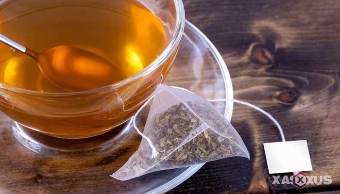 Cara menyembuhkan dan mengobati sariawan dengan kantong teh