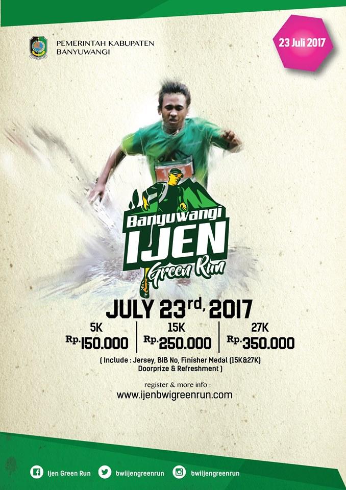 Banyuwangi Ijen Green Run • 2017